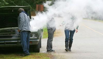 car overheats