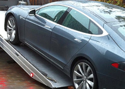 Tesla certified authorized towing service dallas texas